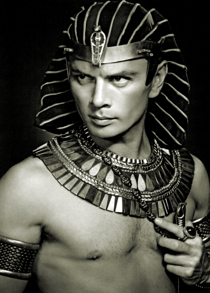 Actor Yul Brynner as Ramses the Great