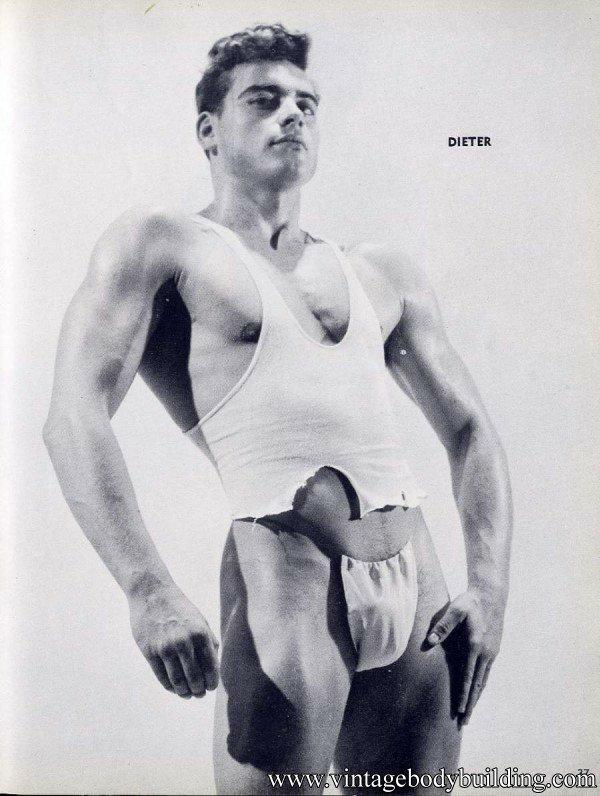 Vintage body builder