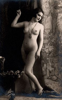 nude flapper