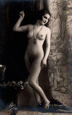 nude flapper