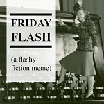 """Button for """"Friday Flash"""""""