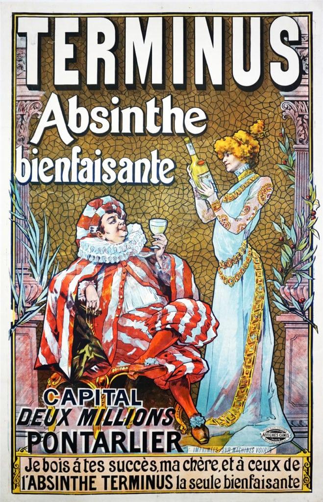 Belle Epoch advertisement for Terimus Absinthe